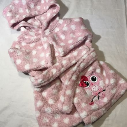 0-3 Month Owl Dressing Gown